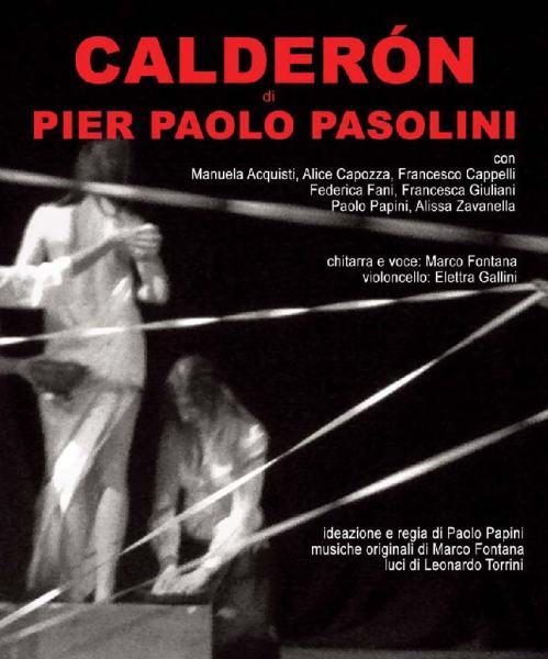 """Calderon""  del Teatro 'O. Locandina"