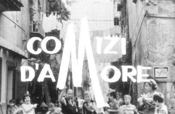 """""""Comizi d'amore"""" (1963-65)"""