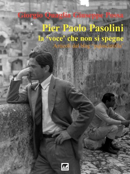 """""""Pier Paolo Pasolini: la 'voce' che non si spegne"""". Copertina"""