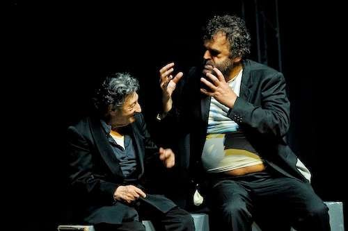 """""""La rabbia"""" di Pippo Delbono. Una scena"""