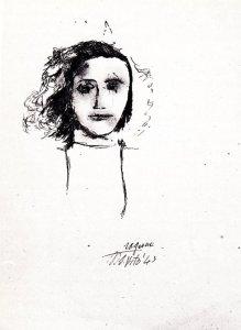 Pier Paolo Pasolini, Ragazza di San Vito, 1943