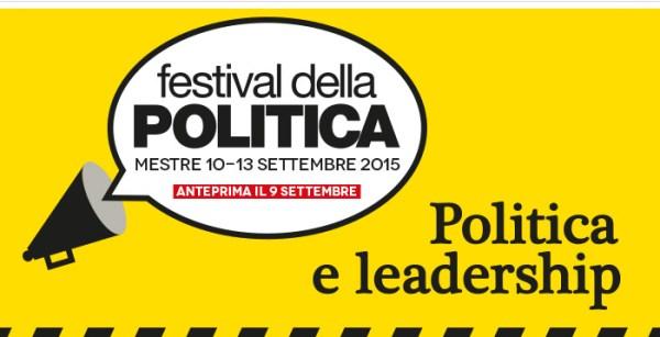 Festival della Politica 2015. Manifesto
