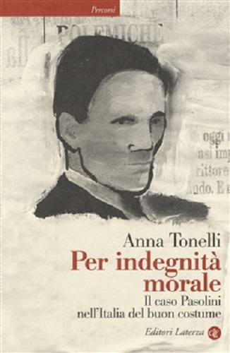 """Per indegnità morale"" di Anna Tonelli. Copertina"