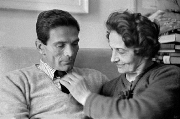 Pasolini e Susanna Colussi