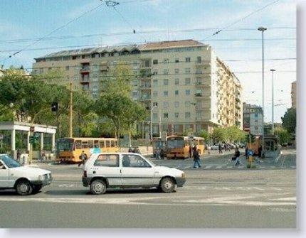 Roma. Il  capolinea di Largo Preneste