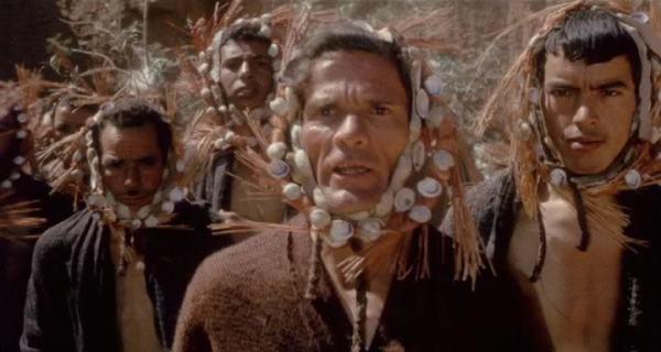 """Il Gran Sacerdote (Pasolini) in """"Edipo re"""" (1967)"""