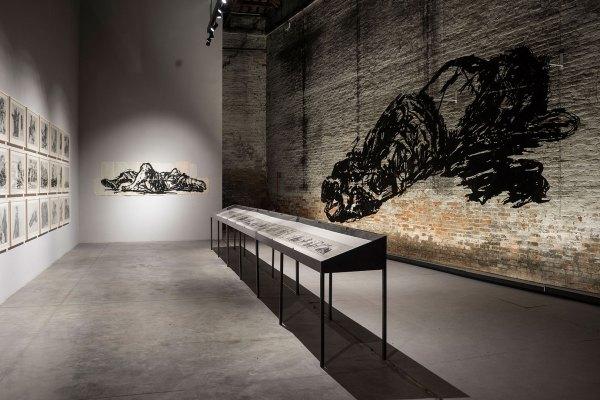 William Kendridge. Installazione alla Biennale di Venezia (2015)