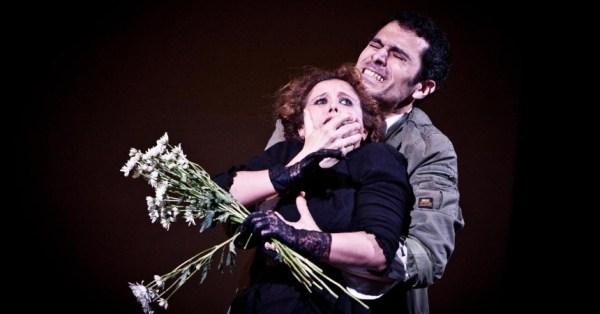 "Selene Gandini e D'Alessandro in ""Pilade"", regia di Daniele Salvo"