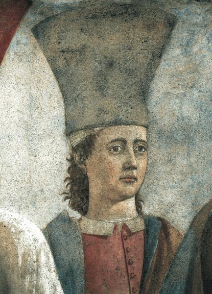 """""""Leggenda della Vera Croce"""" di Piero della Francesca. Particolare"""