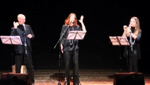 """""""Suite in forma di rosa"""". Massimo Somaglino, Claudia Grimaz, Nicoletta Oscuro"""