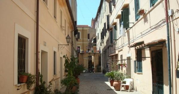 Terracina. Vicolo Rappini