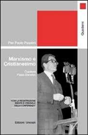"""""""Marxismo e Cristianesimo"""" a cura di Fabio Danelon. Copertina"""
