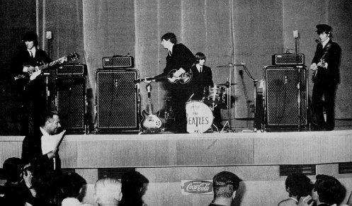 I Beatles a Roma. Foto d'archivio