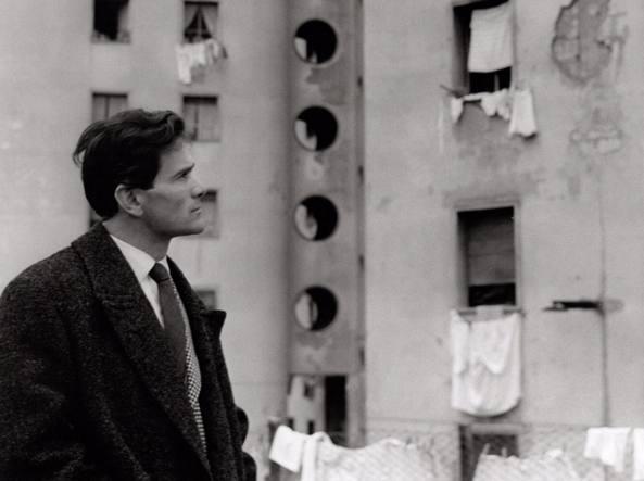 Pasolini (1958). Una foto di Cecilia Mangini