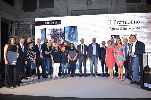"""I vincitori del """"Premiolino 2017"""". Foto Ansa. Credits Flavio Lo Scalzo"""