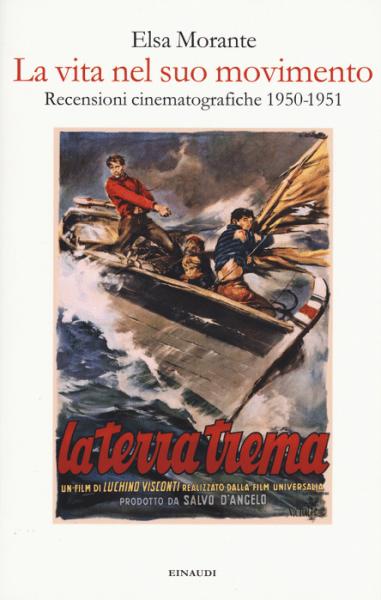 """""""La vita nel suo movimento"""" di Elsa Morante. Copertina"""