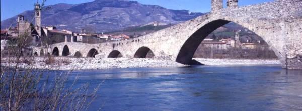 Bobbio (Piacenza). Il Ponte Gobbo