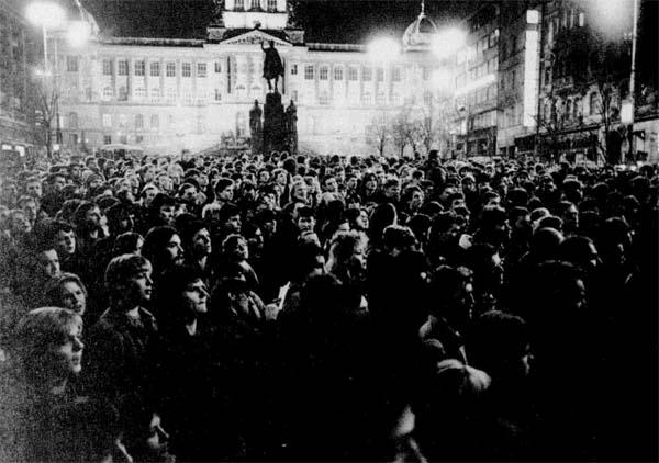 I fuenrali di Jan Palach a Praga. 25 gennaio 1969