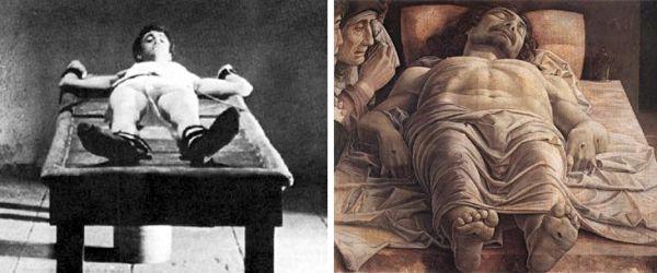 """""""Mamma Roma"""" e il """"Cristo morto"""" di Mantegna"""