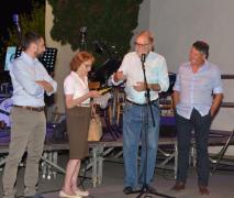 Fabio Cristante, la cugina di Pia Paron, Marco Salvadori e Piero Colussi (Foto Amos Crivellari)