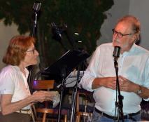 La cugina di Pia Paron e Piero Colussi (Foto Amos Crivellari)