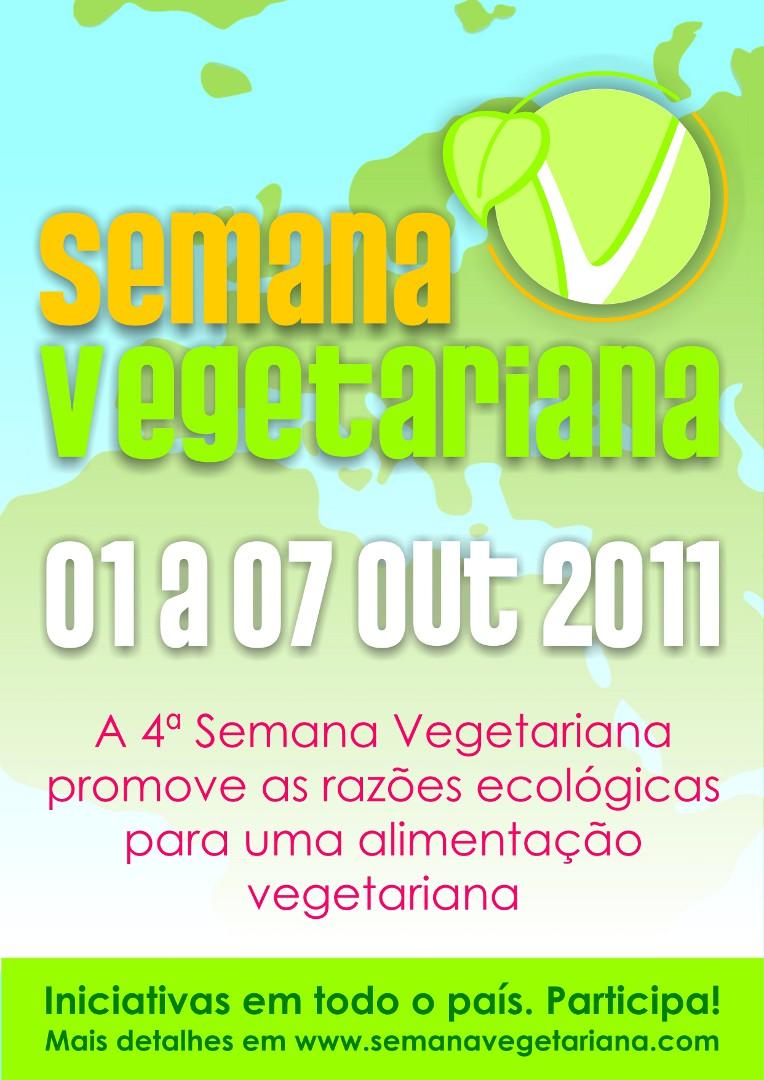 Cartaz Semana Vegetariana