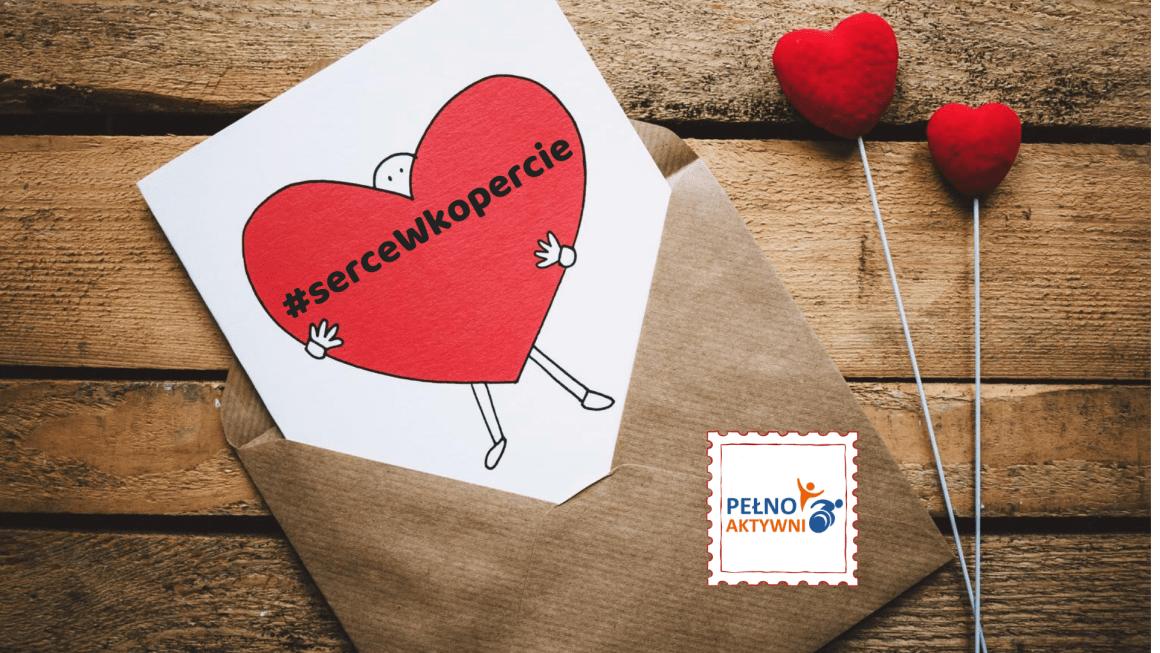 Serce w kopercie – piszemy listy do mieszkańców domów opieki