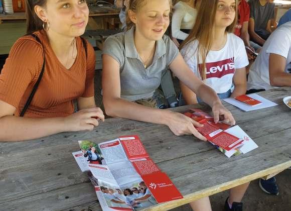 Wolontariusze z Dziadkowic w gotowości