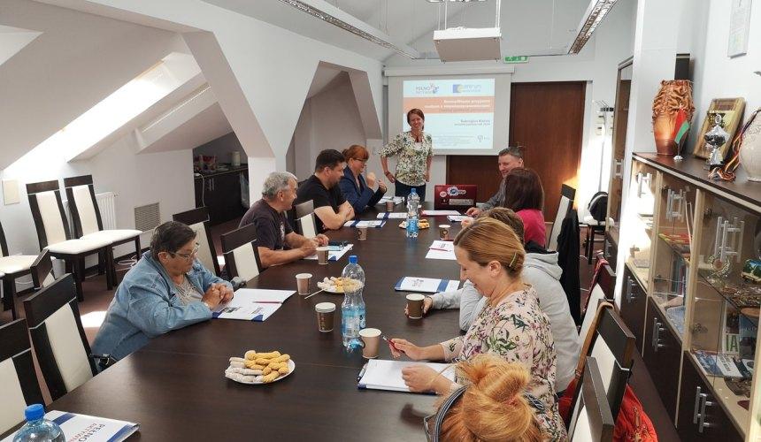 Drugie spotkanie partnerskie w Bielsku Podlaskim (17.09.2020)