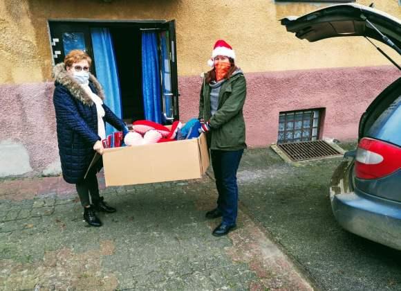 Mikołaj odwiedził ZOL (akcja #MikołajkowyWolontariat)
