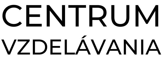 centrum vzdelávania logo