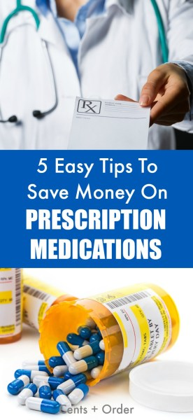 Tired of paying so much for your medication? Check out these 5 ways you can save money on your prescriptions.