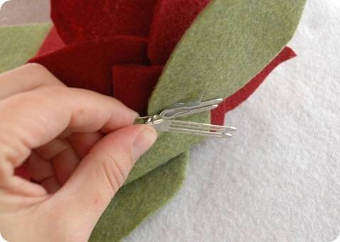 hot glue barrette clip