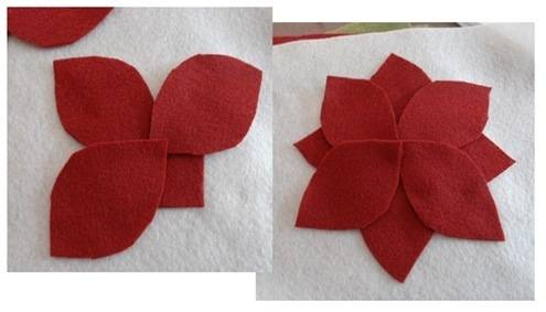 overlap petals