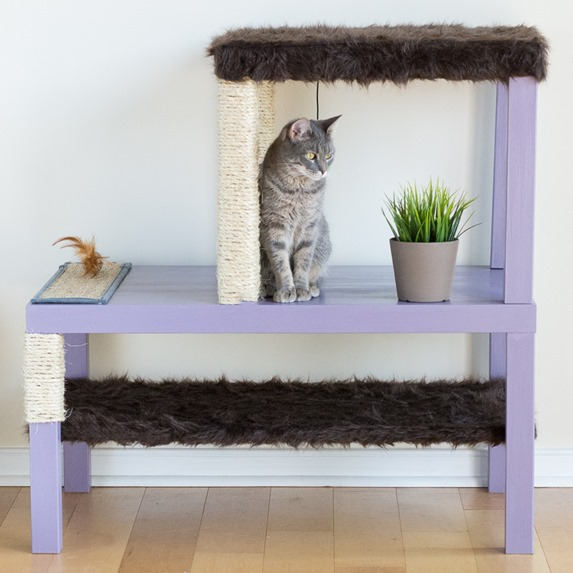 diy kitty condo ikea hack