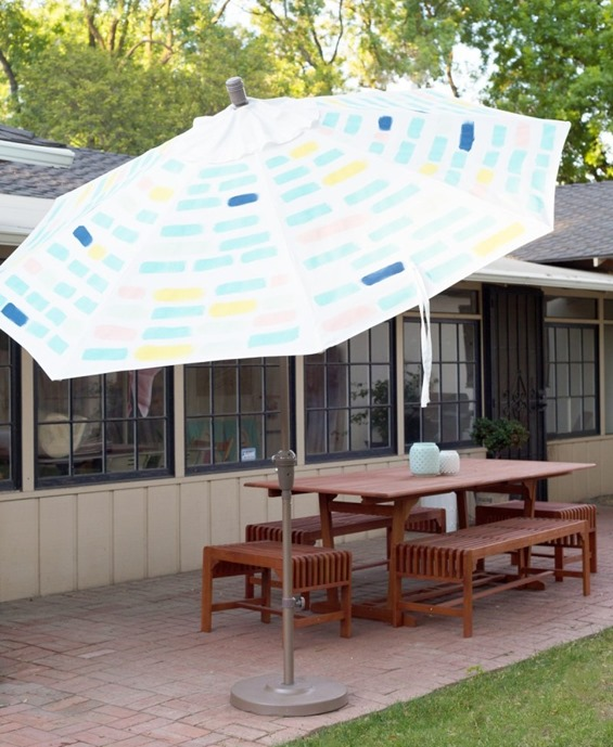brushstroke market umbrella