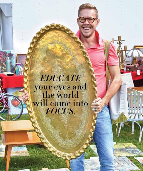 eddie ross gold platter