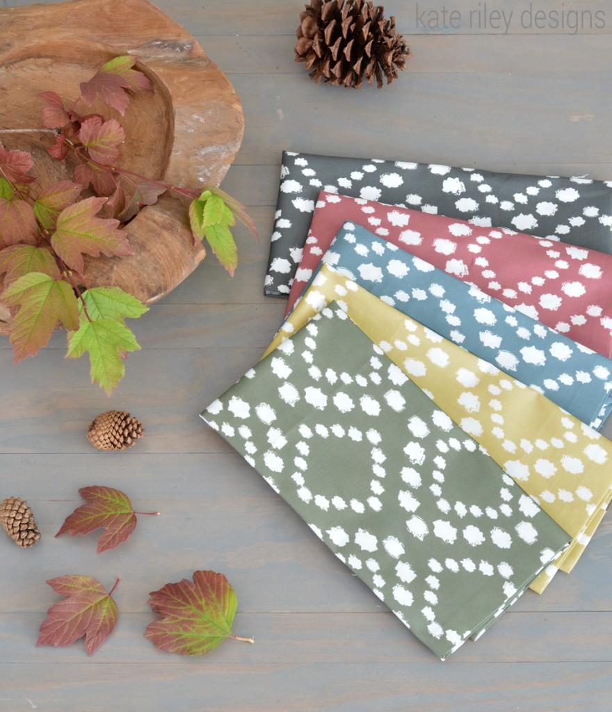 krd dotty pattern napkins