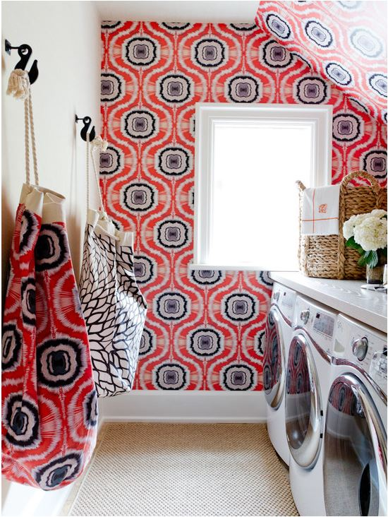 hamptons laundry room