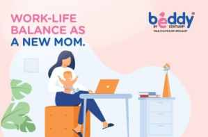 work and life as a new mom