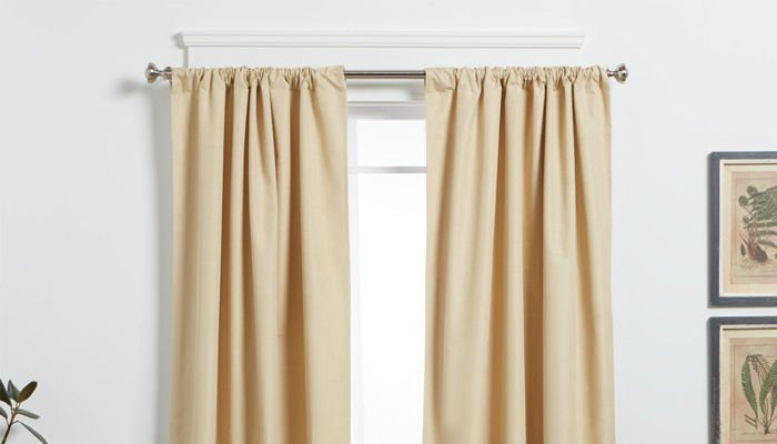 how to choose the right curtain rods
