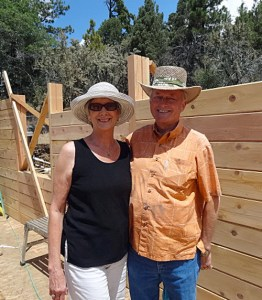 Norma and Marvin Toles, owners of Century Cedar Log Homes for over 20 years.