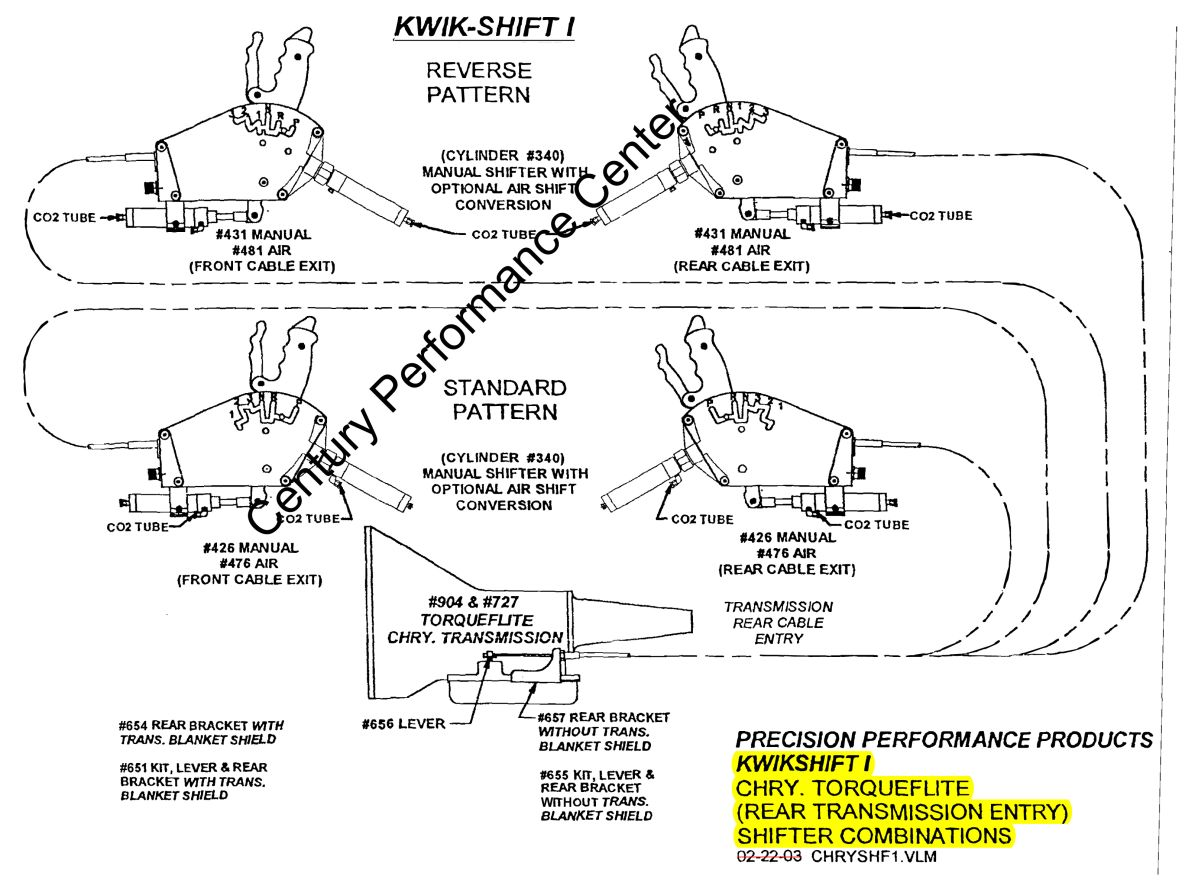 Precision Performance Products 476 Kwik Shift I Air Shifter