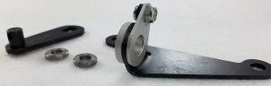 Precision Performance 619A Cable Lever and Bracket kit, for GM TH400 transmissions