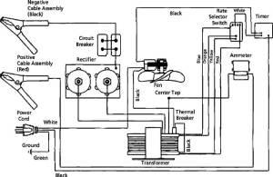 1JYT9 Dayton 40152200130 Amp 612 Volt Battery Charger