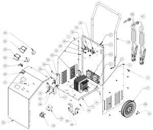 PSW3060 Schumacher Battery Charger Parts List