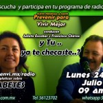 Lunes 24 de Julio programa diabetes