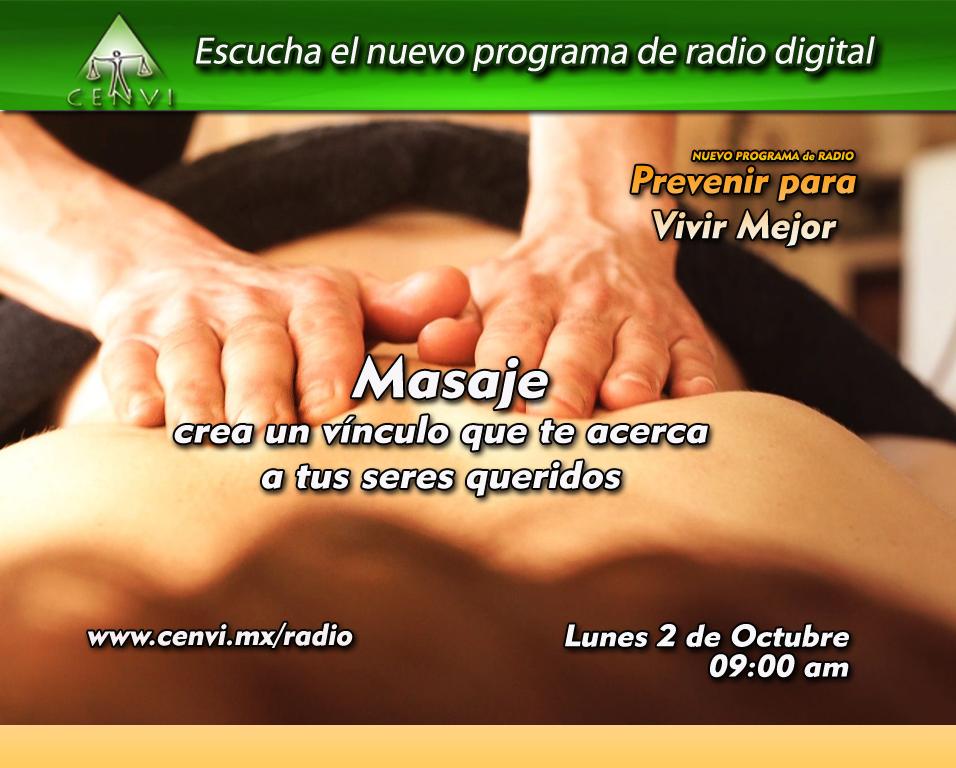 Masaje CENVI radio