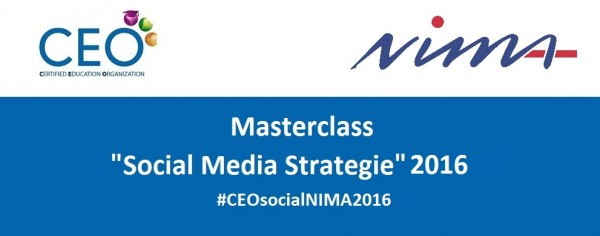 Masterclass Social Media Strategie 2016
