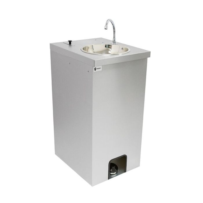 parry mwbt mobile hand wash sink with hot water